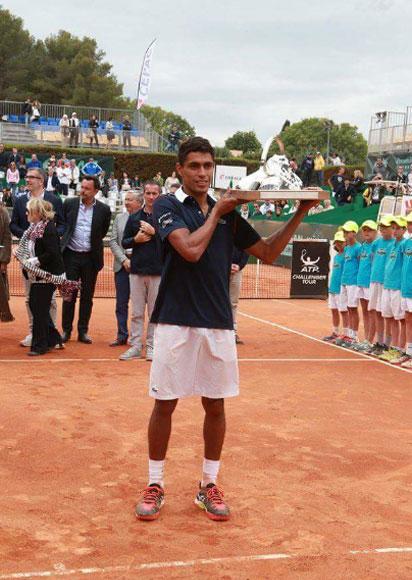 Thiago Monteiro conquista, em Aix-en-Provence, seu maior título