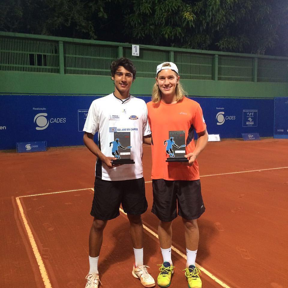 Igor Marcondes é campeão de duplas em Piracicaba (SP)