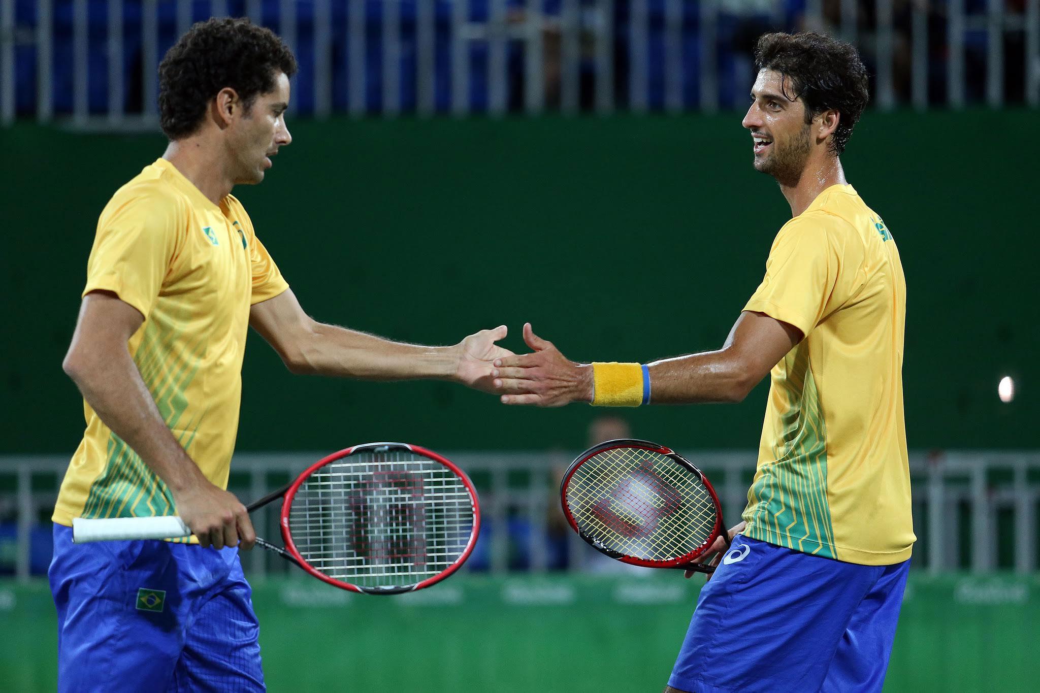 André Sá e Thomaz Bellucci fazem parceria para os próximos torneios